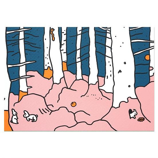 FOREST | Silkscreen card