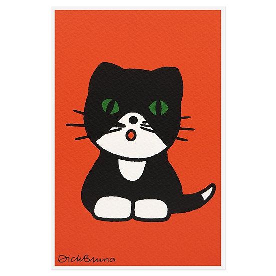 CAT   Miffy Postcard