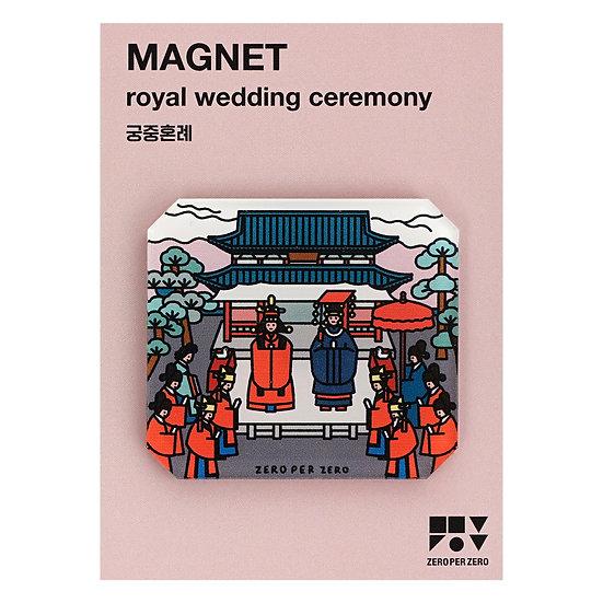 ROYAL WEDDING CEREMONY   Magnet