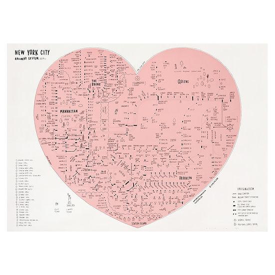 NYC HEART(PINK)