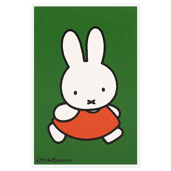 MIFFY WALKING | Miffy Postcard