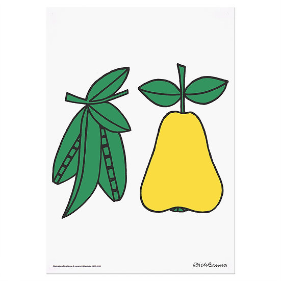 PEA&PEAR | MIFFY A3 RISO poster