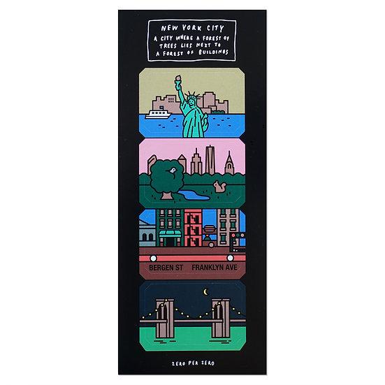 NYC | Sticker