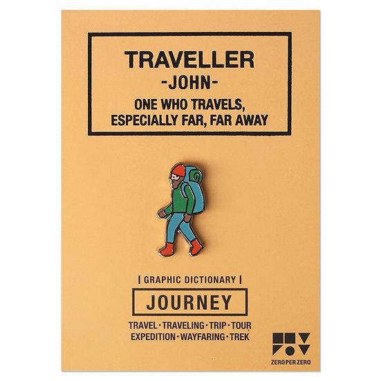 TRAVELLER JOHN   Pin