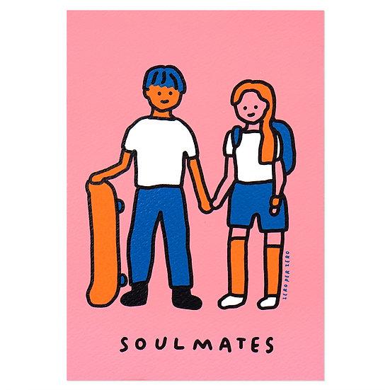 COUPLE(SOULMATES) | Silkscreen card