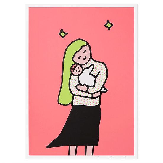 HUG   Silkscreen poster