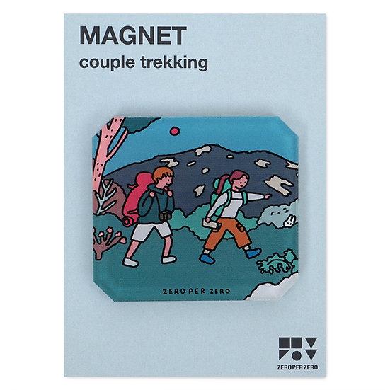 COUPLE TREKKING | Magnet