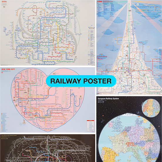 RAILWAY POSTER COLLECTION