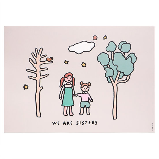 SISTERS | A3 poster