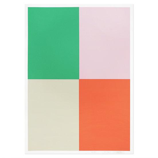 COLORS4 #2 | Silkscreen poster