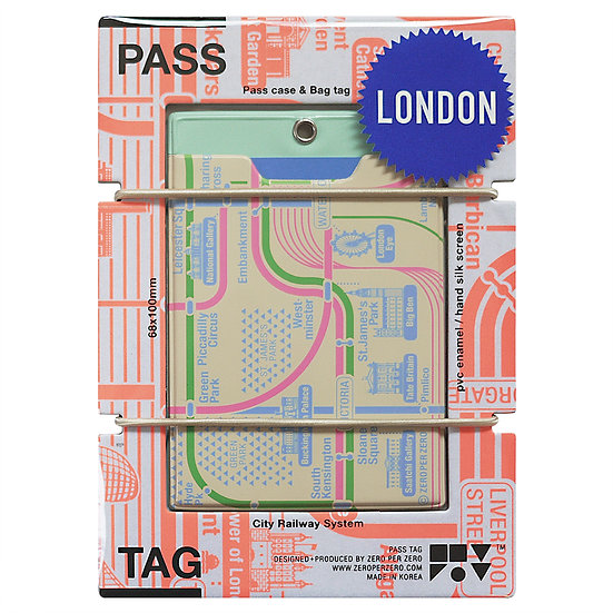 LONDON beige | Pass tag