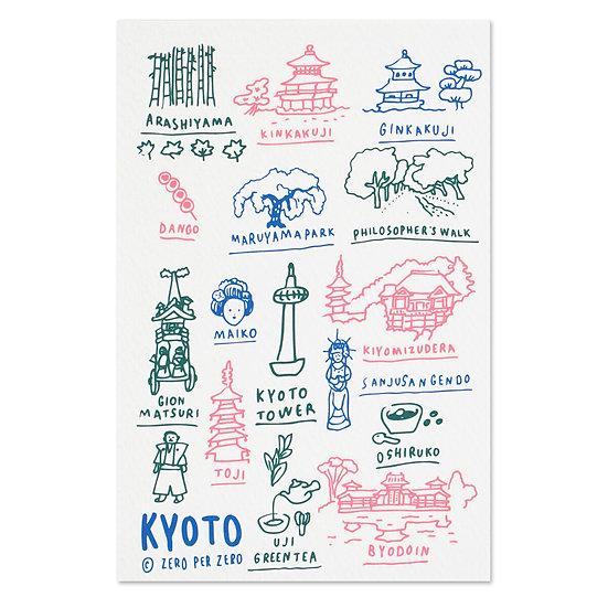 KYOTO hand | Postcard