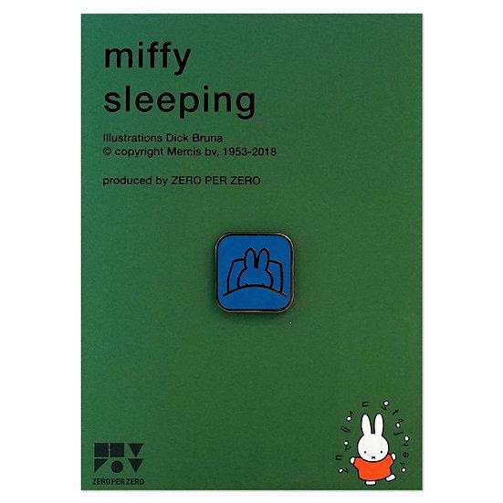 MIFFY SLEEPING | Miffy Pin