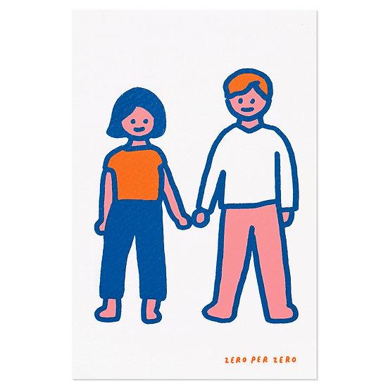 COUPLE2 | Postcard