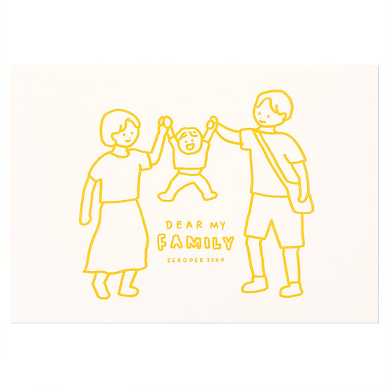 FAMILY1(YELLOW) | Pressed Card