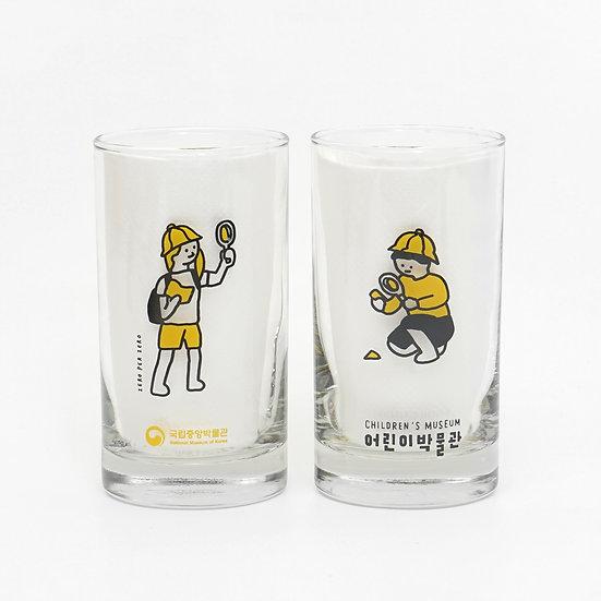 CHILDREN'S MUSEUM | Drinking glass