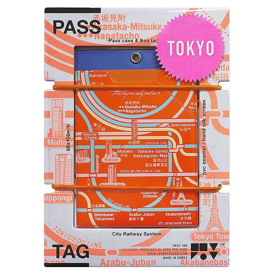 TOKYO orange (roppongi) | Pass tag