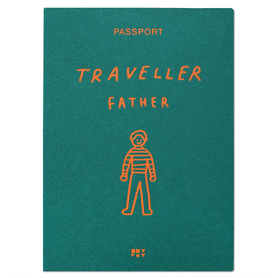 FATHER 2 green | Passport cover