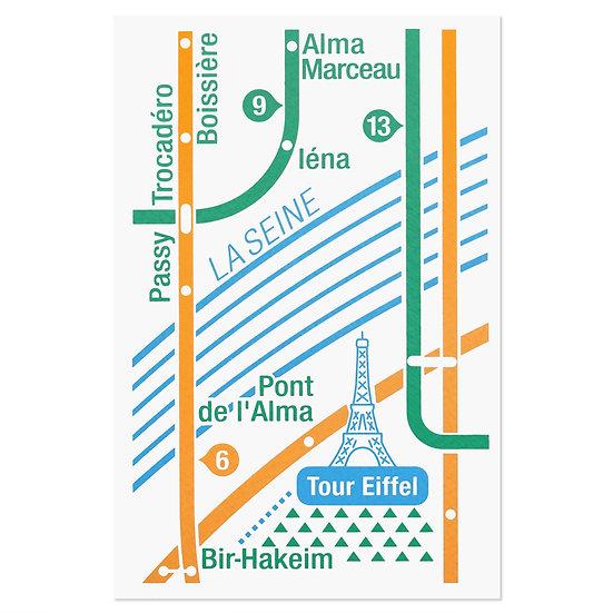 PARIS EIFFEL TOWER3 | Postcard