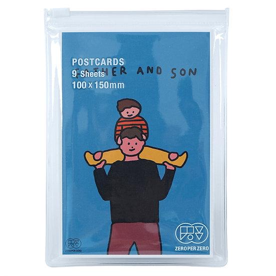 FATHER & SON | Postcard set