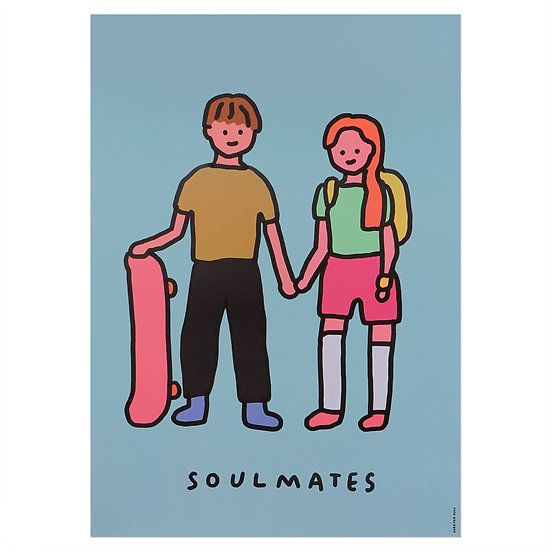 COUPLE(SOULMATES) | A3 poster