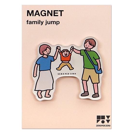 FAMILY JUMP | Magnet