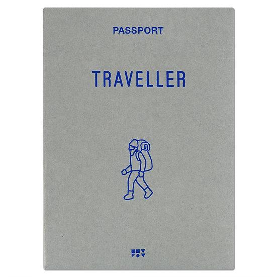 TRAVELLER gray | Passport cover