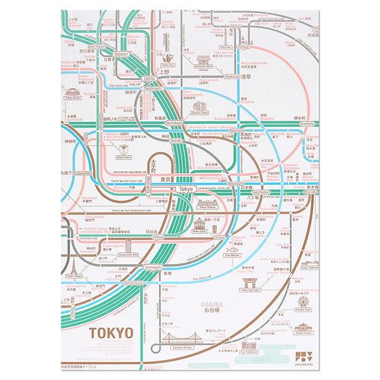 TOKYO   A5 note