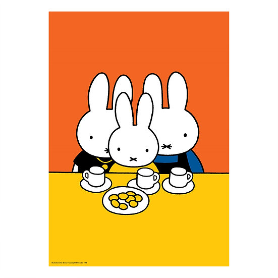 SNACK TIME | MIFFY A2 poster