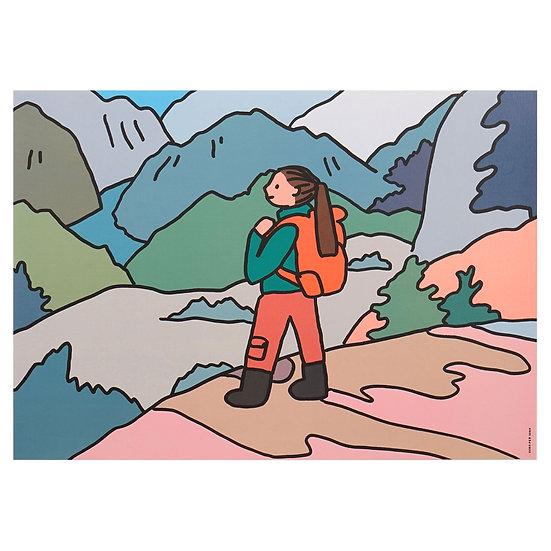 Trekking | A3 poster