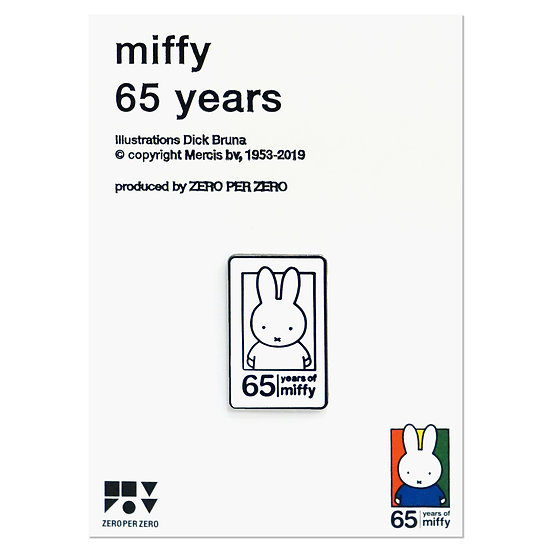 MIFFY 65th ANNIVERSARY | Miffy Pin