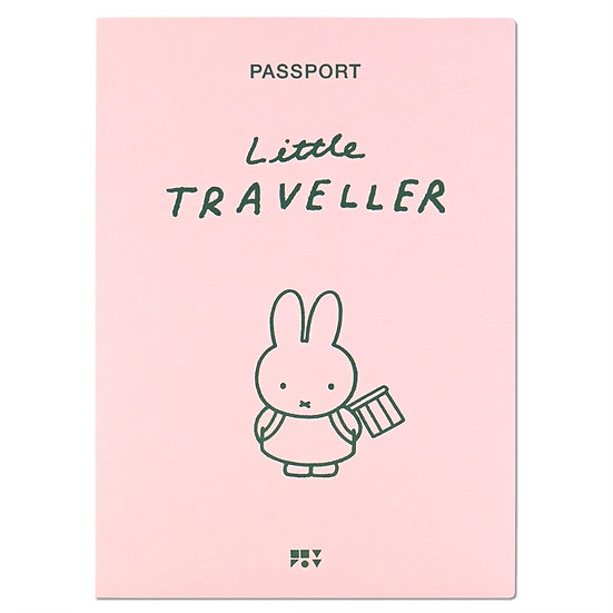 MIFFY PINK | Miffy Passport cover