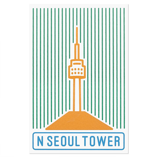 SEOUL TOWER line | Postcard