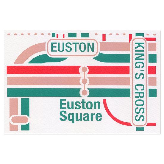 LONDON KING'S CROSS   Postcard
