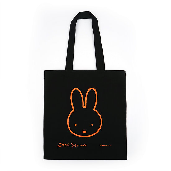 MIFFY black | Miffy Eco bag