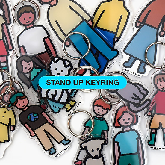STAND UP KEYRING COLLECTION