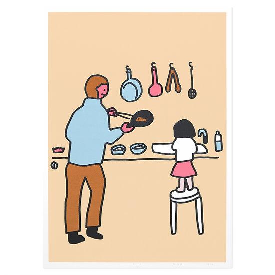 COOKING | Silkscreen poster