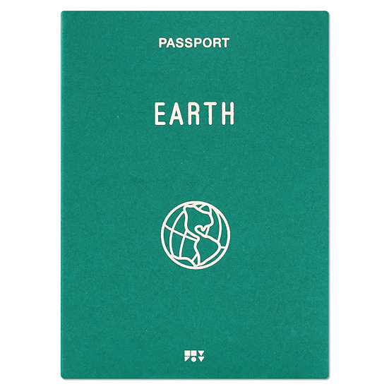 EARTH green | Passport cover