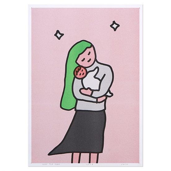 HUG | A3 RISO poster