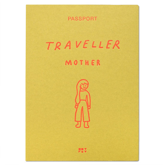 MOTHER 2 olive | Passport cover