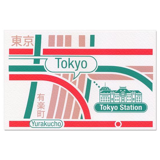 TOKYO STATION3 | Postcard
