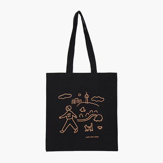 WALKWALK SEOUL black | Eco bag