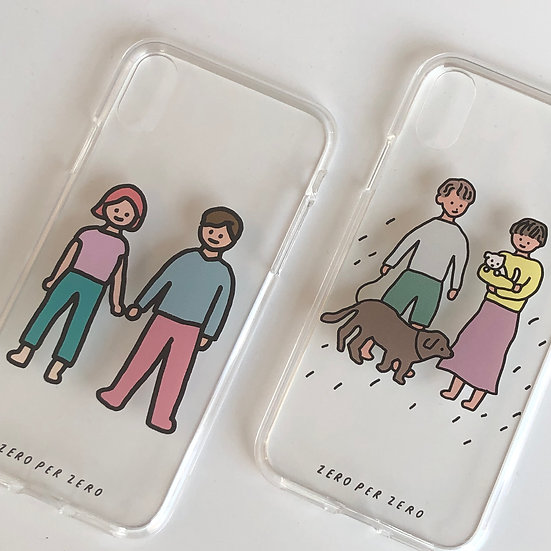 PHONE CASE(JELLY CASE) - FAMILY/COUPLE series