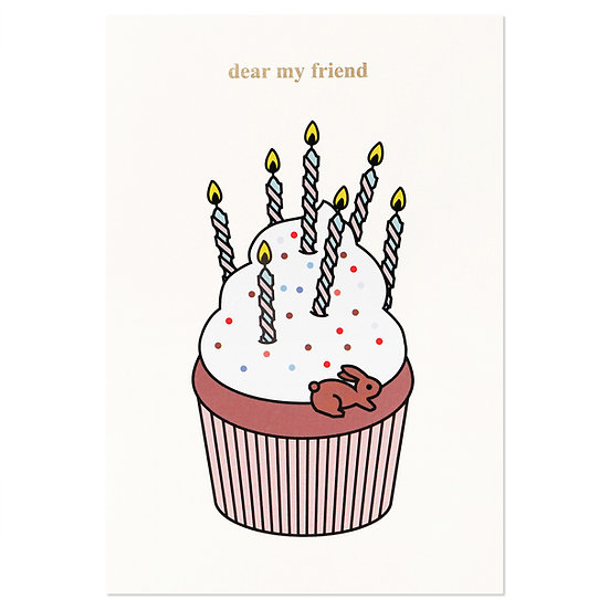 CUPCAKE | Cake card