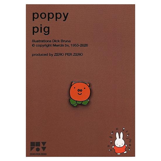 POPPY PIG | Miffy Pin
