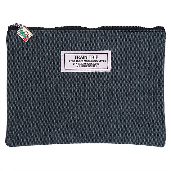 TRAIN TRIP | Travel pouch