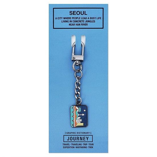 SEOUL2   Keyring