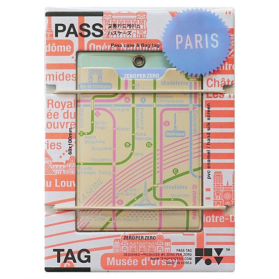 PARIS beige1 | Pass tag