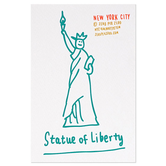 STATUE OF LIBERTY hand2 | Postcard