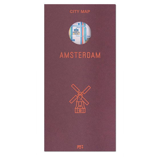 AMSTERDAM | City map